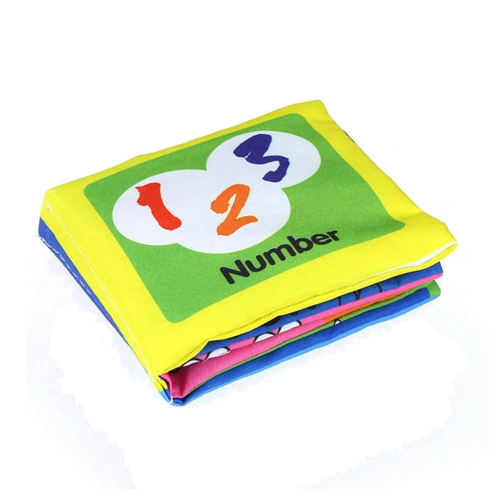 Education toys,Mandy Soft Cloth Intelligence Development Learn Cognize Book C