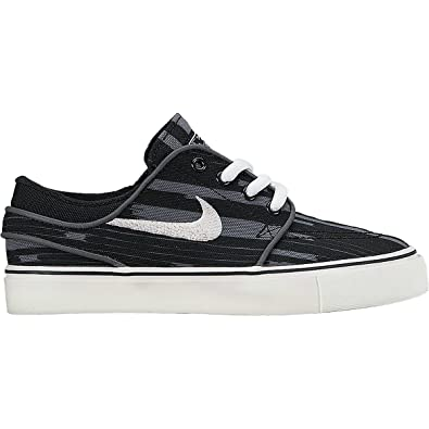 87b5605de7 NIKE Stefan Janoski Premium Canvas Shoe - Toddler Boys (4.0 C, Black/Dark