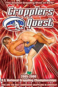 """Grapplers Quest """"2005-2006 U.S. National Submission Grappling Championships"""" [Import]"""