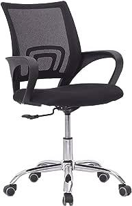 Office Mesh Chair Computer Desk Fabric Adjustable Ergonomic Swivel Lift