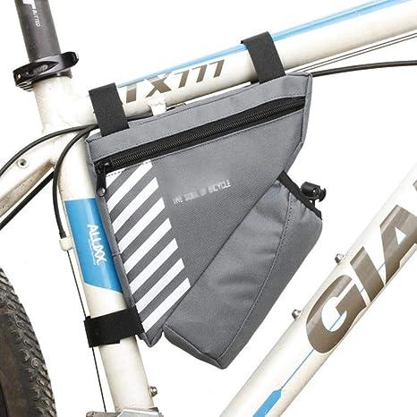 4 tipos de bolsas para bicicleta Bolsa para teléfono con pantalla ...