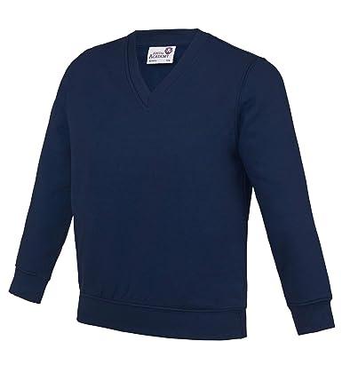 Sweat-shirts Haut Garçon Awdis Kids Academy V-Neck Sweatshirt Uniforme décolier Vêtements