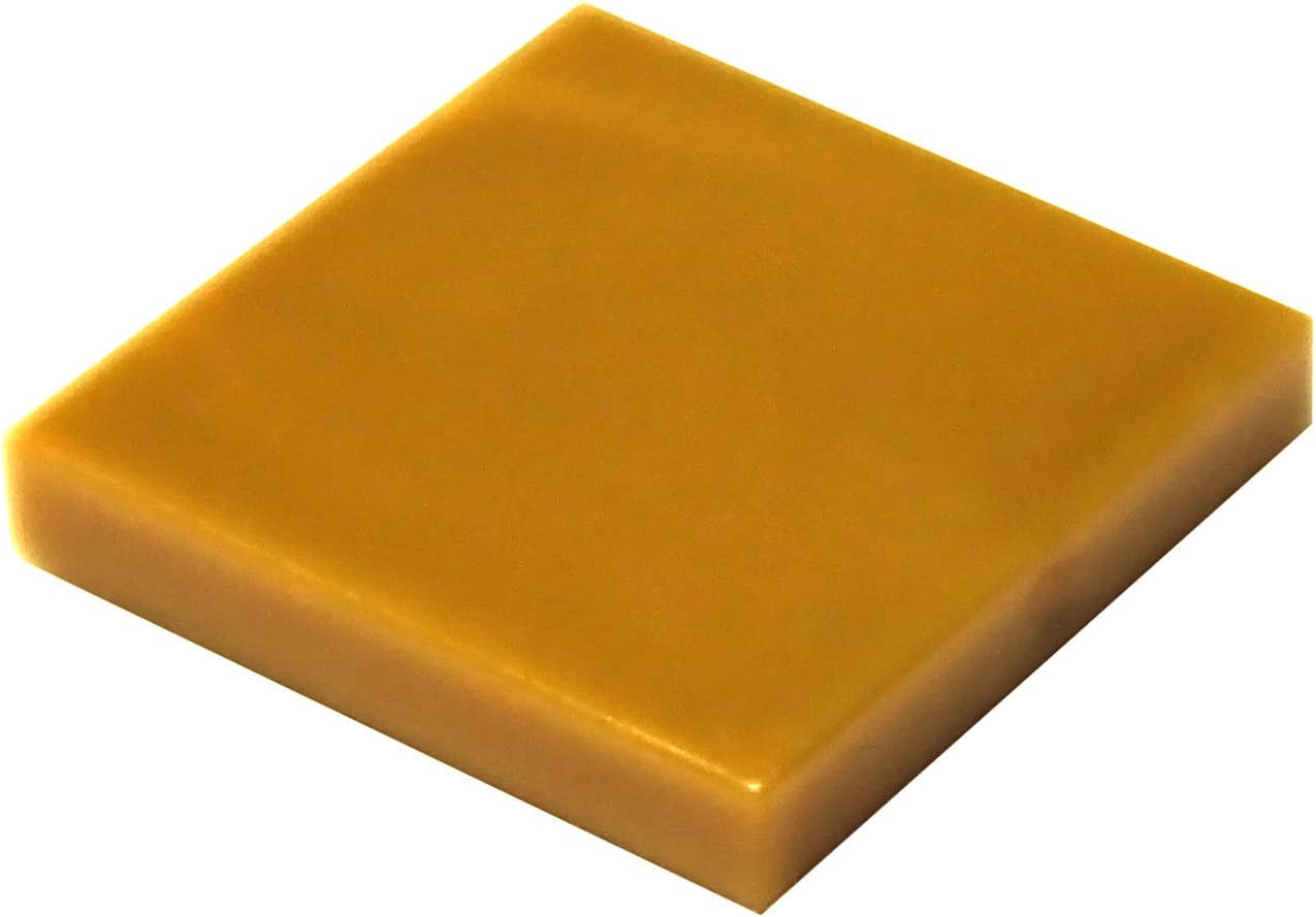 LEGO Parts and Pieces: Pearl Gold (Warm Gold) 2x2 Tile x50
