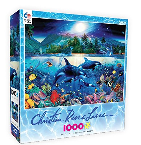 Ceaco Christian Riese Lassen Majestic Kingdom Puzzle (1000 Pieces)