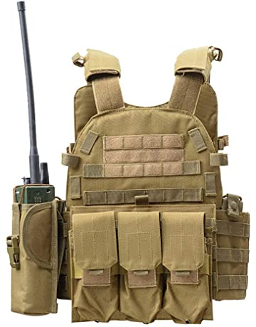 Tan Yet Not Vulgar Aa Shield Molle Hunting Plates Carrier Lightweight Military Tactical Vest Jpc Style Security & Protection