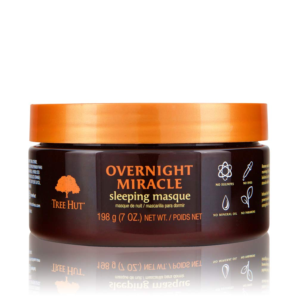 Tree Hut Hair Care Overnight Miracle Sleeping Masque, 7 Fl. Oz