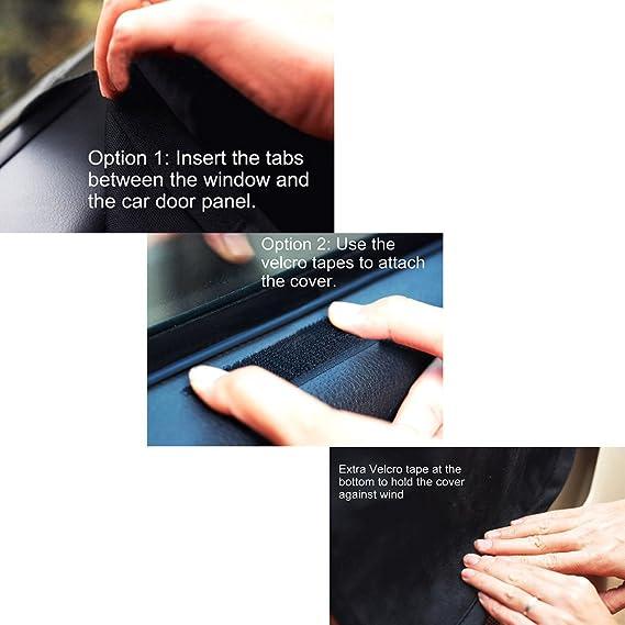 Automotive Fahrzeug Auto Tür Schutzfolie Für Pet Dog Cat Scratch Guard Shield Seite Scheibe Cover Haustier