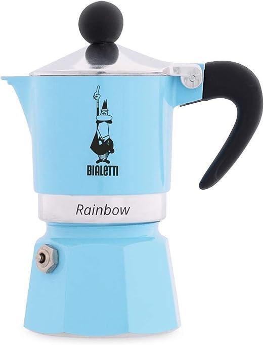 Amazon.com: Bialetti 5041 Rainbow cafetera de espresso, La ...