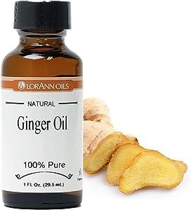 LorAnn Ginger Oil Super Strength Natural, 1 ounce bottle