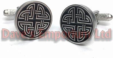 Pair Of Japanese National Flag Cufflinks /& Gift Japan Box by Onyx Art