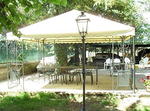 CRUCCOLINI Linea Jardín Friendly Carpa 6 x 6 de Hierro Forjado: Amazon.es: Jardín