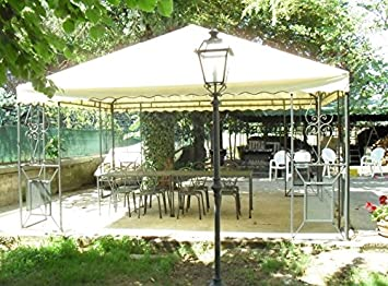 CRUCCOLINI Linea Jardín Friendly Carpa 6 x 6 de Hierro Forjado: Amazon.es: Jardín