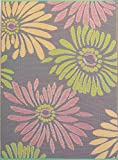 Mad Mats Daisy Indoor/Outdoor Floor Mat, 5 by 8-Feet, Violet Review