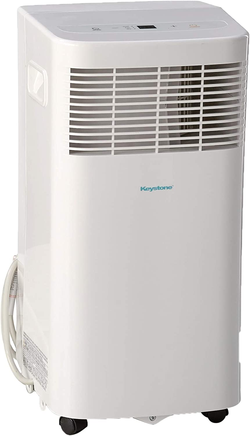 Keystone 8,000 BTU 115V Portable Air Conditioner with Remote Control, Rooms up to 100-Sq. Ft