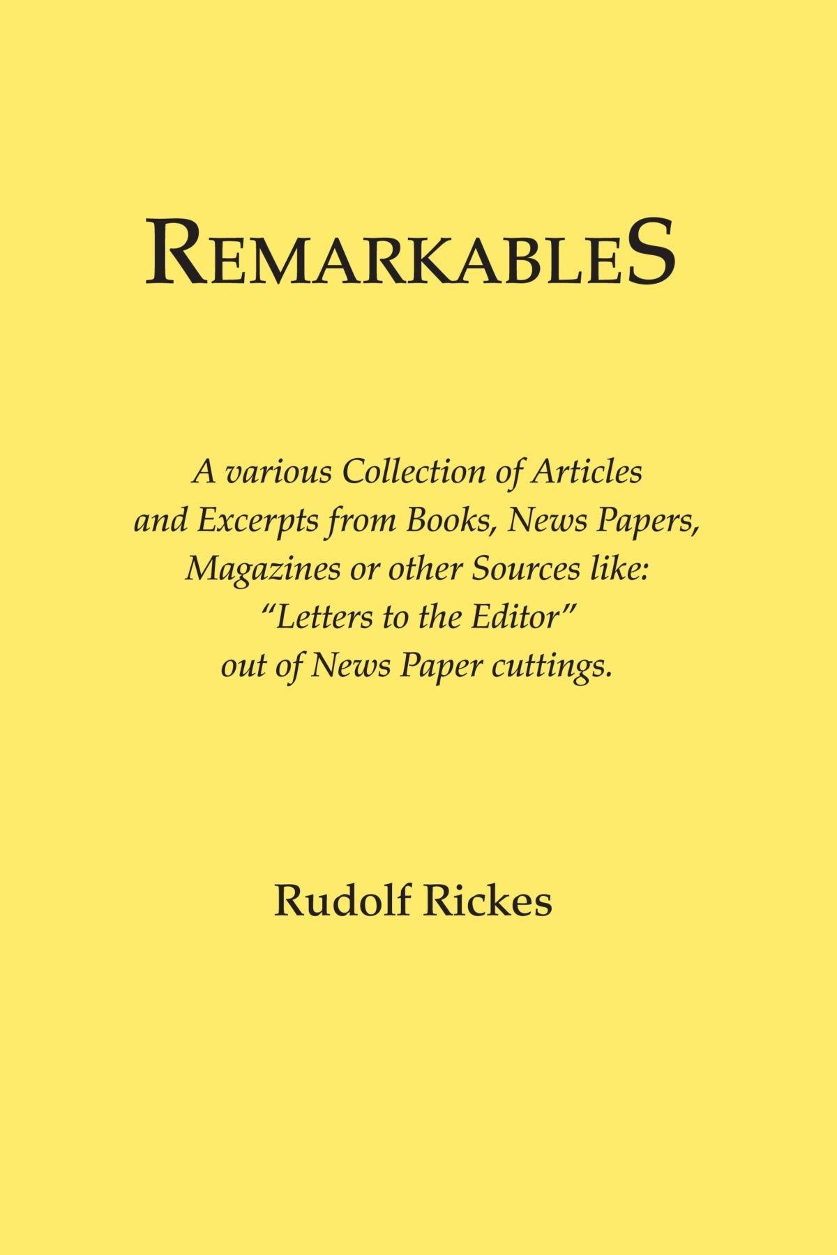 Remarkables pdf