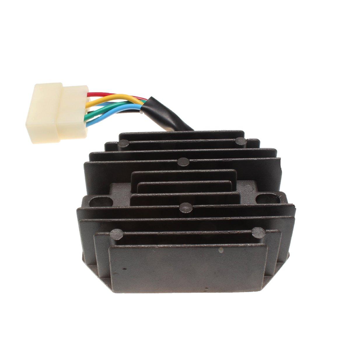 Friday Part 12V Voltage Regulator for Yanmar Tractor YM180 YM186 YM187 YM220 YM1601