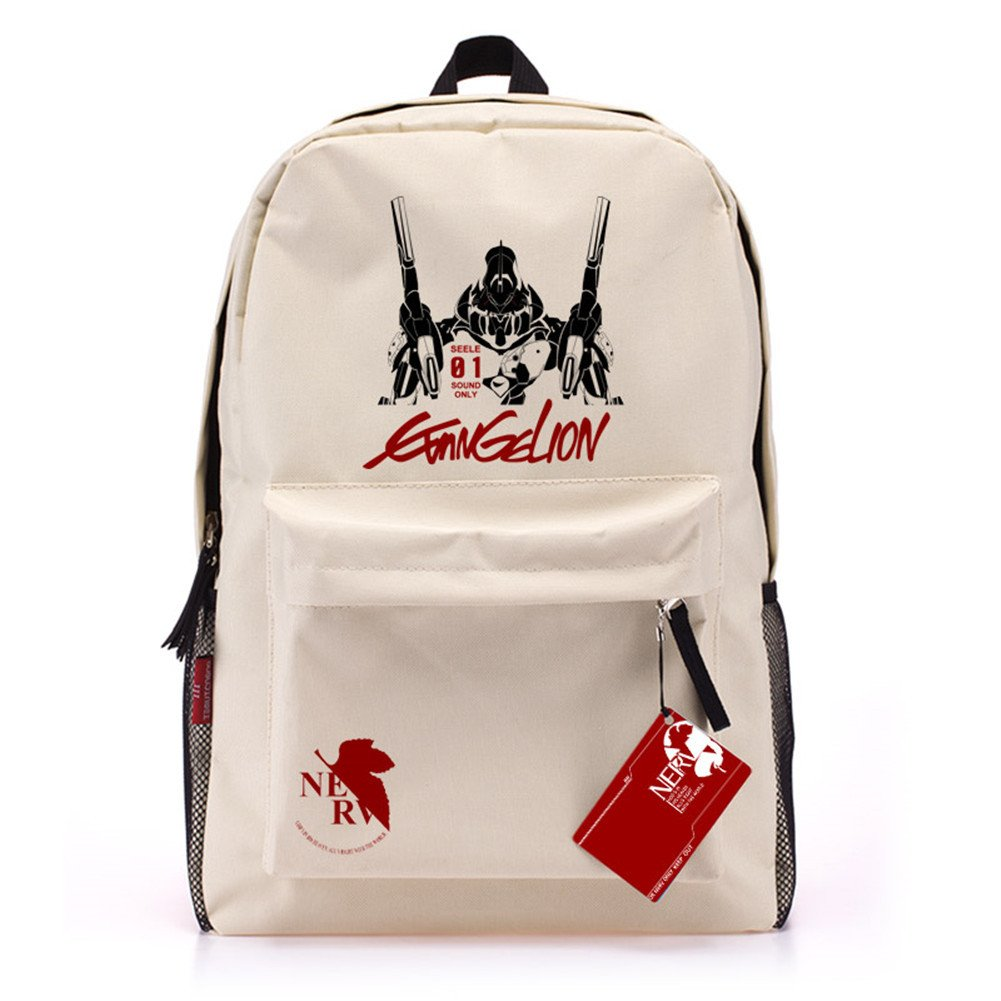 BagFamily® EVA DEATH Neon Genesis Evangelion Anime Backpacks Schoolbag