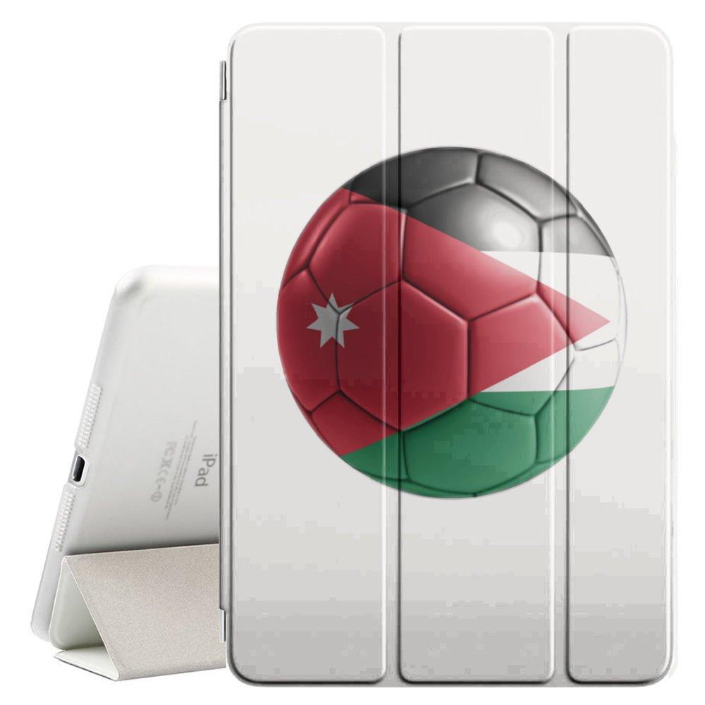 STPlus Bandera y balón jordanos del equipo de fútbol de Jordán ...