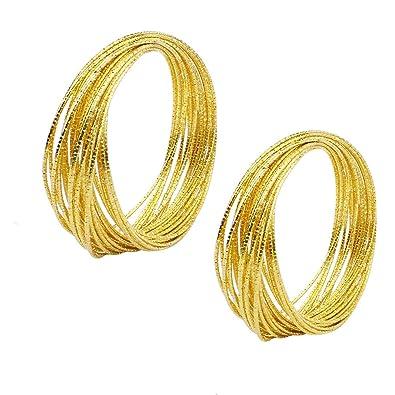 2pcs Pulsera de Mujer con Pulsera de Oro para Regalo de ...