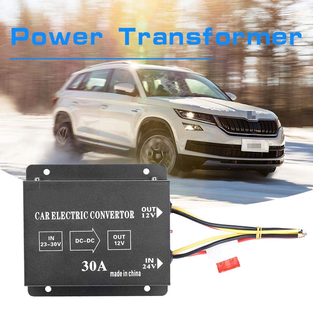 KIMISS auto camion di sicurezza 24v a 12v dc convertitore di energia elettrica tensione scenda trasformatore riduttore invertitore con pi/ù possibilit/à 20 // 240w