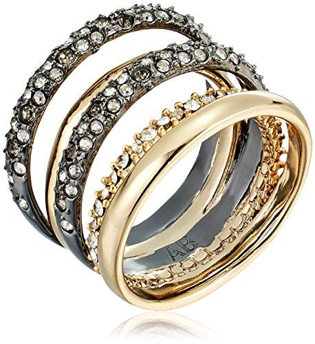 Alexis Bittar Pave Orbit Ring, Size 6