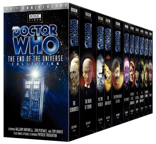 8271e41c02a Amazon.com  Doctor Who - The End of the Universe Collection  VHS   Various   Movies   TV