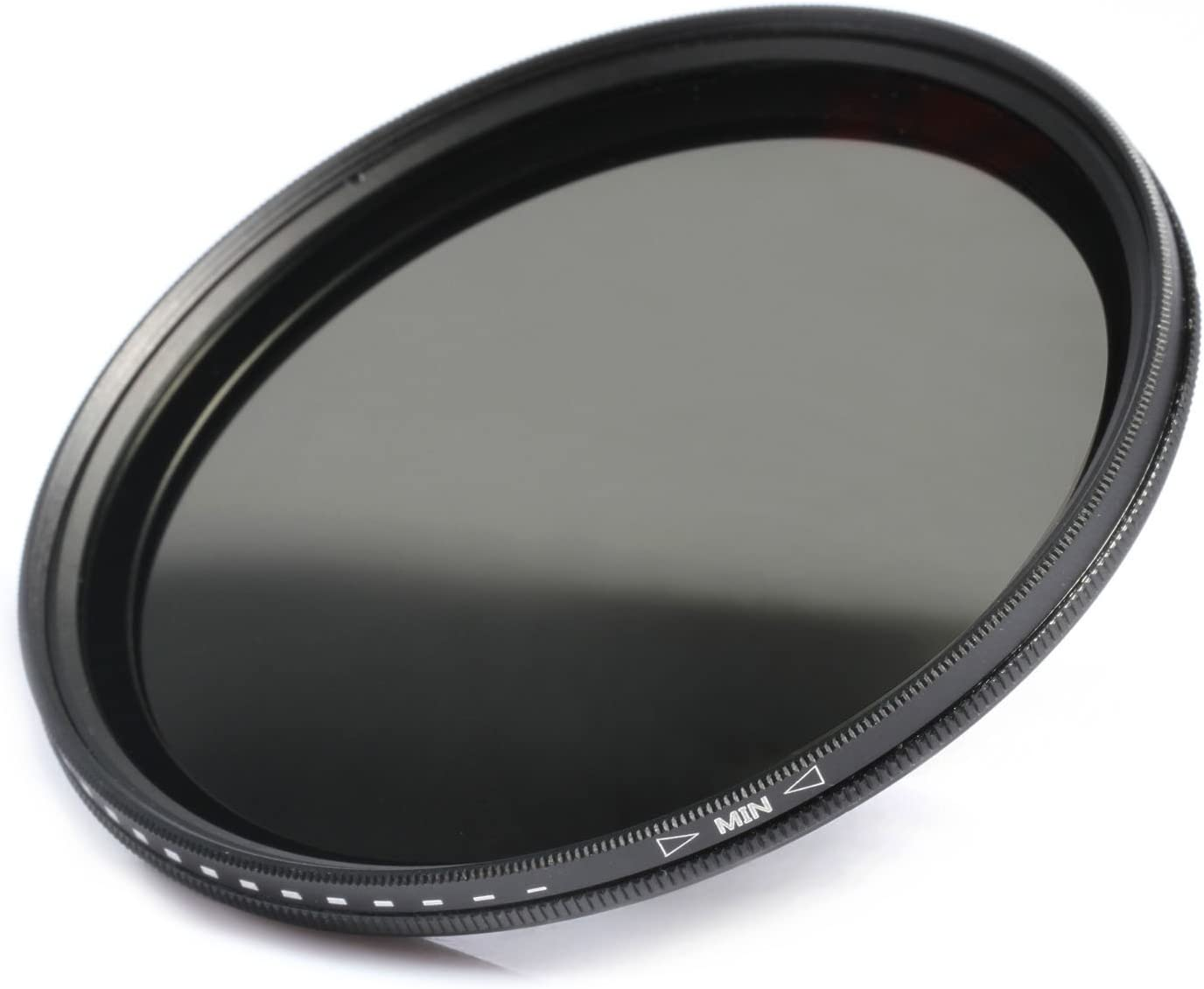 K/&F Concept 43mm Slim Fader Variable ND2-ND400 Neutral Density Adjustable ND ND2 ND4 ND8 ND16 to ND400 Lens Filter Kit Microfiber Cleaning Cloth for DSLR Cameras