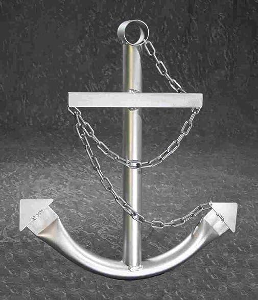 Amazon.com: Silver Anchor Wall Art Decor 24\
