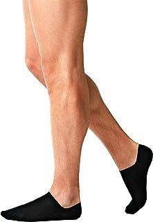 Liabel® 6 Paia di Fantasmini In Filo Di Scozia Uomo, Calzini Sneakers Corti Con Taglio Basso in Cotone 100% Marchio Qualità Abbigliamento Intimo Moda di Uomo Ufficio