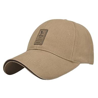 tout neuf eeeec ea2b0 Vollter Baseball Cap Sport Pure Color Hommes Coton Outdoor Casual Chapeau  de Soleil Casquettes de Camionneur Randonnée Hat Snapback
