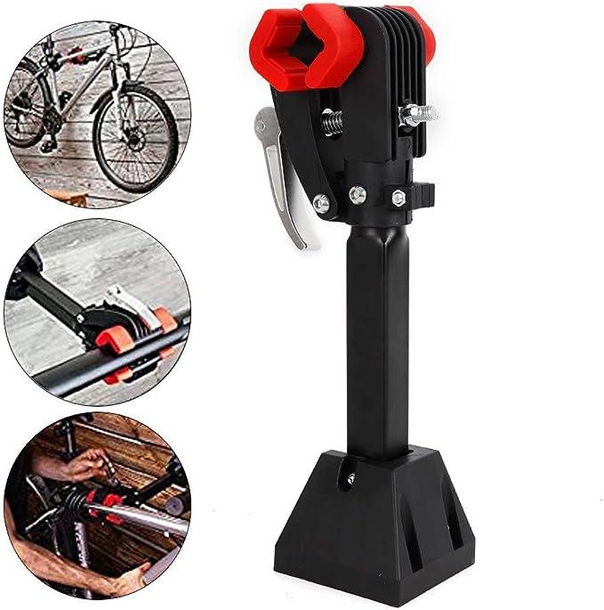 Capalta Blume Fahrrad Montageständer Reparaturständer 30 Kg Unterstützt Fahrradständer Reparatur Wandhalter Werkzeugständer Sport Freizeit