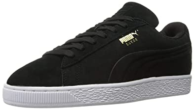 magasin en ligne 554ff 1b8fb PUMA Men's Suede Classic Debossed Q3 Fashion Sneaker (4 D(M) US / 34 EUR,  Puma Black)