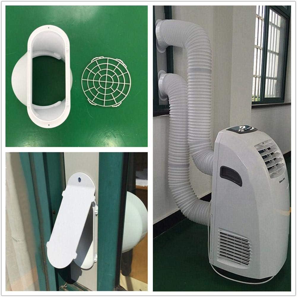 Delonghi y Muchos m/ás acondicionadores de Aire port/átiles Manguera del acondicionador de Aire Longitud de hasta 59  para LG ventilaci/ón de Escape port/átil con di/ámetro de 5.1