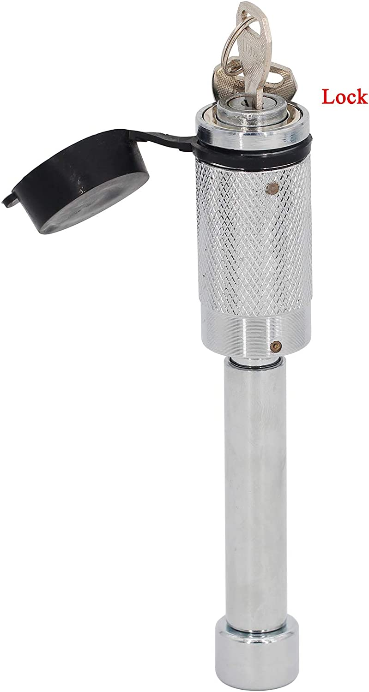 ELSOON Receiver Lock for 1//2 /& 5//8 Pin Diameter Stainless Steel