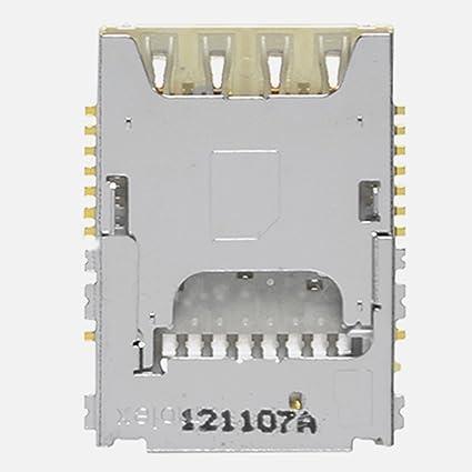 Amazon.com: Tarjeta SIM lector de tarjeta SIM conector ...