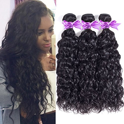 wet and wavy human hair weave - 5