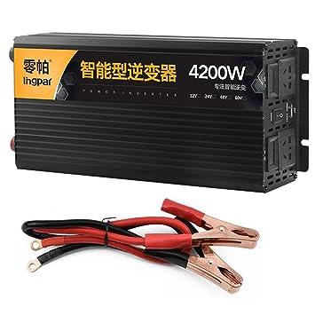 offre spéciale meilleur rétro HPDOW 2500W 3200W 4200W 5200W Convertisseur Pur SinusDC 12V ...