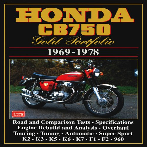 Honda CB750 1969-78 Gold Portfolio from Brand: Brooklands Books Ltd