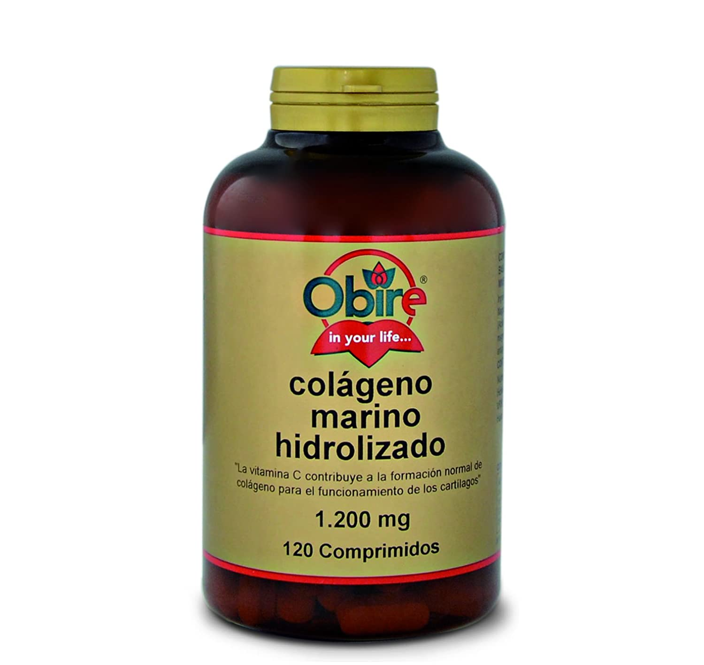 Colágeno marino hidrolizado 1.200 mg. 120 comprimidos con magnesio, ácido hialurónico y vitaminas C.: Amazon.es: Salud y cuidado personal