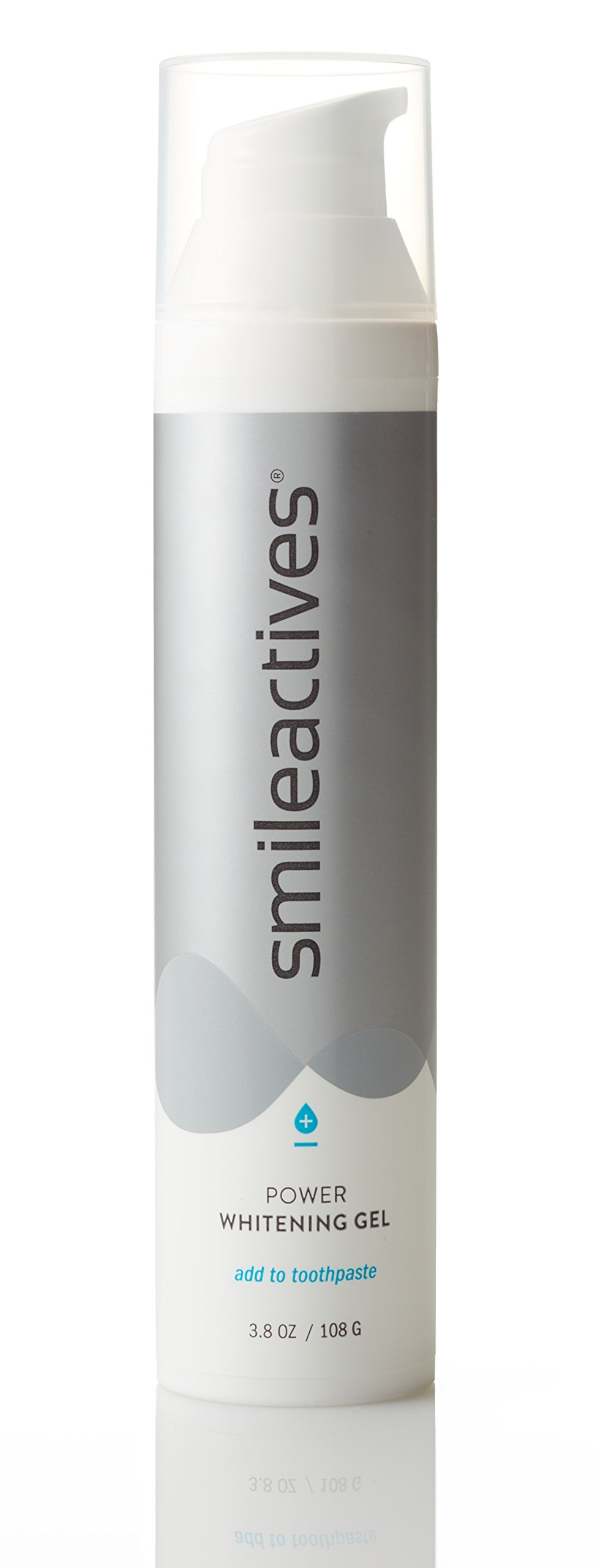 smileactives – Power Whitening Gel – Teeth Whitening and Brightening with Polyclean Technology – 90 Day Supply/3.8 Ounces