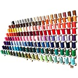 Machine Embroidery Thread Set - 160 Colors of Polyester on 500M Spools - ThreadArt