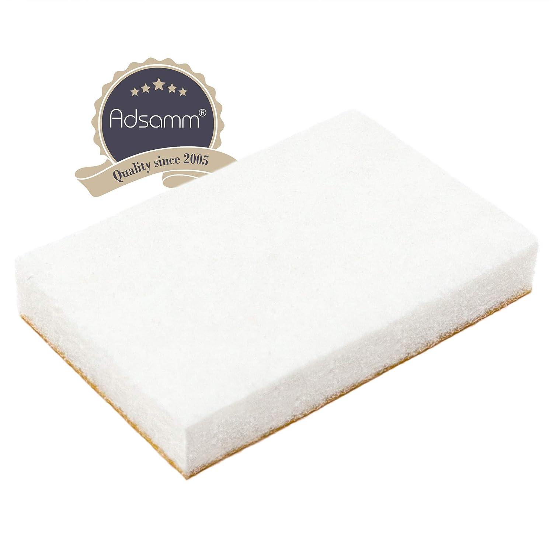 rechteckig 5.5 mm von Adsamm/® Wei/ß 20x30 mm 32 x Filzgleiter selbstklebende M/öbelgleiter in Premium-Qualit/ät