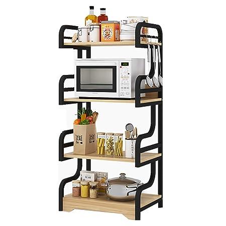 Rack de cocina Estante de almacenamiento de utilidades Horno de ...
