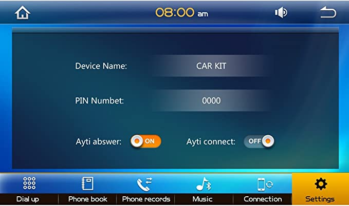 beidouyh cvd7801b 7 Inch Touch Screen Car GPS Navegación HD 1080P Reproductor de DVD with AM/FM Radio Bluetooth Wifi USB DVR Backup Camera App Download: Amazon.es: Electrónica