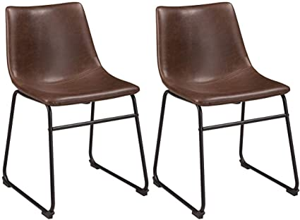 Incroyable Ashley Furniture Signature Design   Centiar Dining Chairs   Set Of 2   Mid  Century Modern