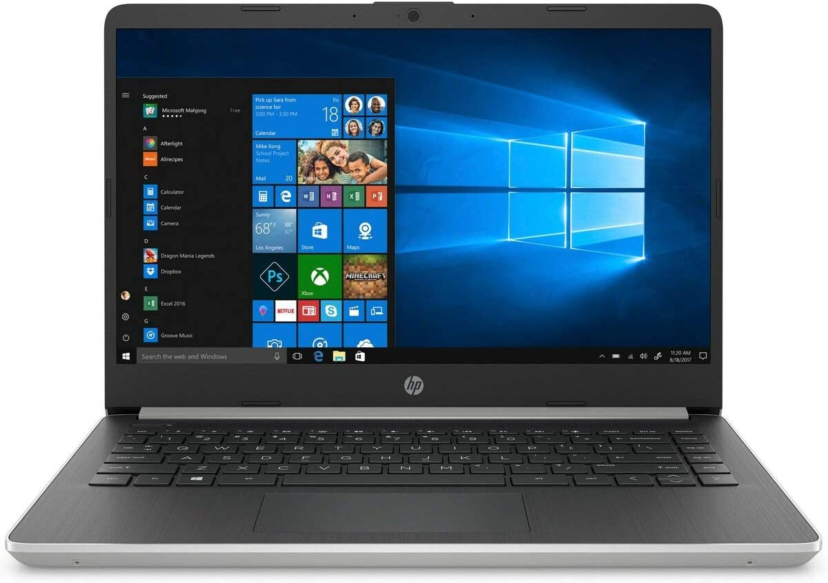 "Newest 2019 Flagship HP 14"" Thin & Light Full HD IPS BrightView Micro-Edge Laptop, 10th Gen Intel Quad-Core i5-1035G1 Up to 3.6GHz, 16GB DDR4 512GB PCIe SSD WLAN Webcam HDMI Bluetooth USB-C Win 10"