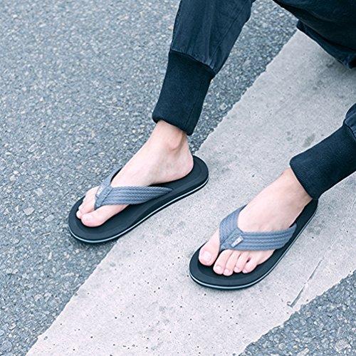 Bajas de Zapatillas Algodón Plata Hombre Qianliuk ZxwP7TnqT5