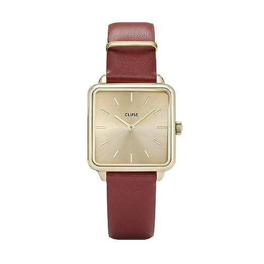 Amazon.com: Reloj de pulsera para mujer, diseño minimalista ...