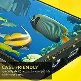 Galaxy S8 Screen Protector (2-Pack, Case Friendly Updated Design), DeltaShield BodyArmor Full Coverage Screen Protector for Galaxy S8 Military-Grade Clear HD Anti-Bubble Film