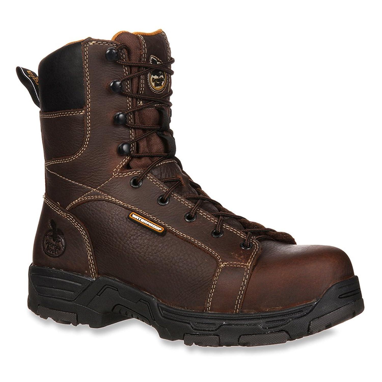 Georiga Men's Diamond Trax Waterproof Work Boots